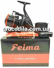 Серфовая котушка Feima YF 8000 з перфорированой шпулей