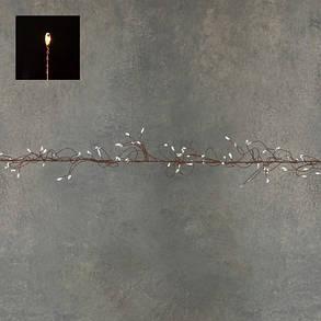 """Гирлянда-кластер, медная струна, """"Luca"""", 11 м, теплый белый, фото 2"""