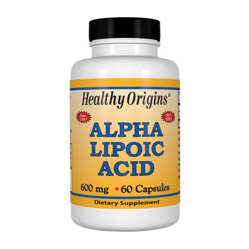 Альфа-липоевая кислота Healthy Origins Alpha Lipoic Acid 600 mg (60 caps)