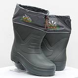 Сапоги мужские пена ЭВА с утеплителем - Adventures Dago Active. Экспортная модель Темно-зеленые (олива), фото 2