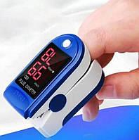 Пульсоксиметр (TFT дисплей) Fingertip Pulse Oximeter LK87. Пульсометр оксиметр на палец. Беспроводной измерит, фото 1