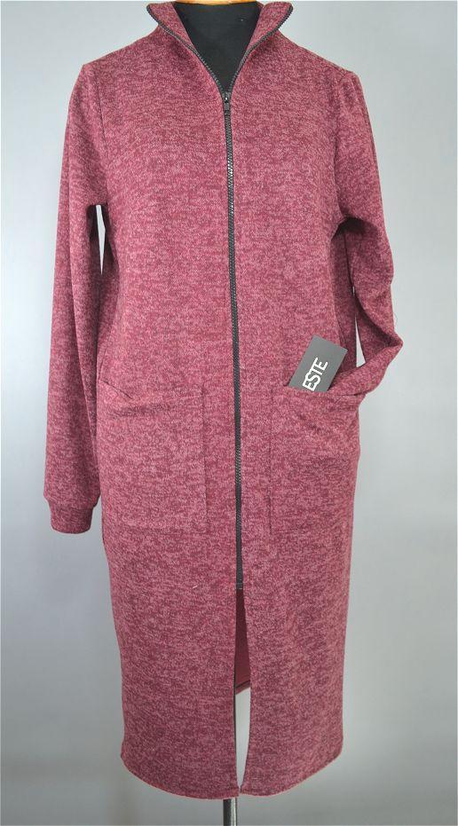 Халат женский домашний Este теплый с карманами большие размеры.