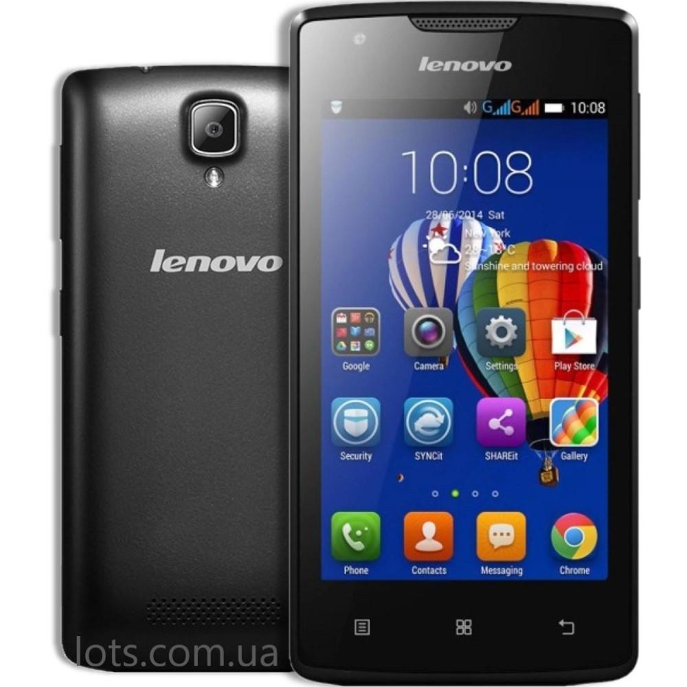 Смартфон Lenovo A1000 (1/8Gb) Black