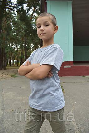 Футболка детская серая для мальчика, фото 2