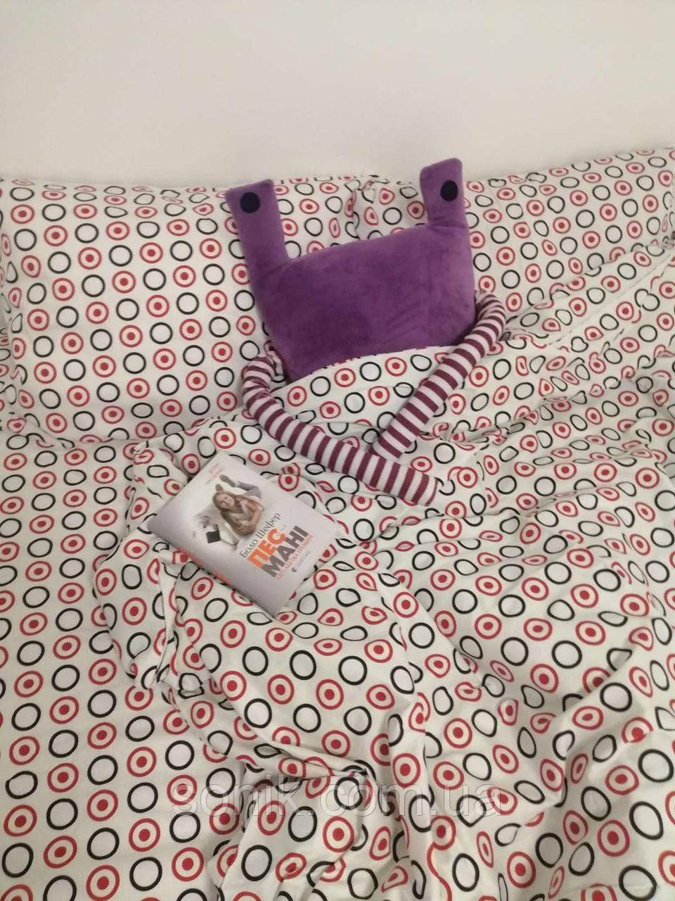 Комплект постельного белья сатин Горох