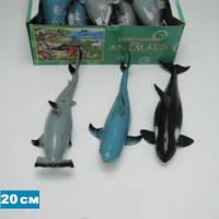 """Морские животные Гонконг A026P тянучка 7,5-9"""" 6в. по 6шт. в п/э/8/192/"""
