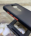 Чехол Xiaomi Redmi Note 8 Pro противоударный бампер накладка цветная окантовка/ синий/ зеленый/ черный, фото 3