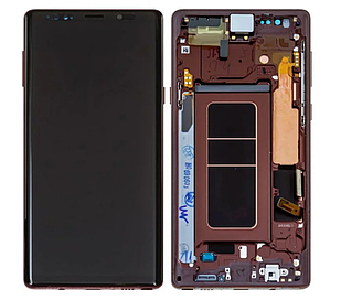 Модуль для Samsung Galaxy Note 9, Samsung N960, золотистый, дисплей + сенсор