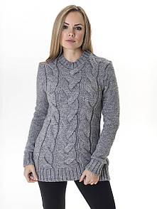 Свитер женский М302S светло-серый