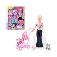 Кукла Defa Lucy 20958 Кукла Дефа с коляской от 3 лет