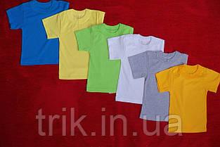 Желтые футболки для мальчиков бейка средняя, фото 3
