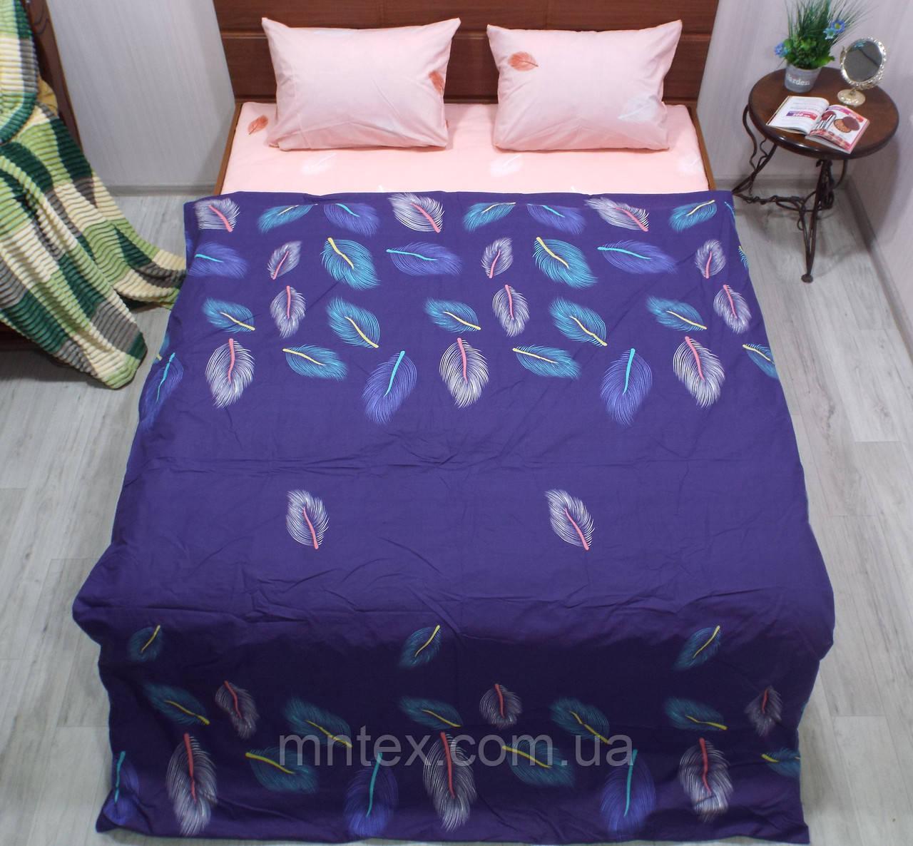 Комплект постельного белья бязь Голд Павлин