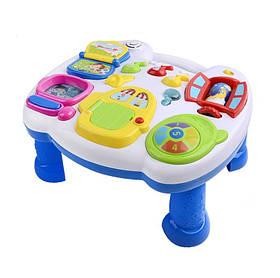 Детский развивающий столик с музыкой Веселый стол