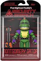 Фигурки 5 ночей с Фредди Аллигатор Монтгомери Нарушение Безопасности Five Nights at Freddy's Security Breach