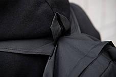 Рюкзак мужской городской SUPREME  спортивный черный, мужской рюкзак городской для ноутбука, рюкзак роллтоп, фото 3