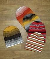 Шапка детская вязаная двухслойная акрил, детская одежда от производителя, комсомольский трикотаж