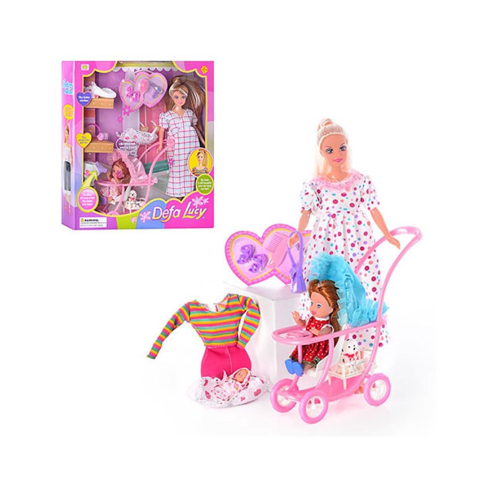 Кукла Defa Lucy 8049 Кукла Дефа с коляской от 3 лет