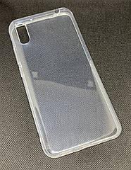 Xiaomi Redmi 9A прозрачный силиконовый ультратонкий чехол/ бампер/ накладка