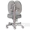 Комплект подростковая парта для школы FunDesk Amare Pink + ортопедическое кресло FunDesk Contento Grey, фото 3