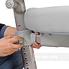 Комплект подростковая парта для школы FunDesk Amare Pink + ортопедическое кресло FunDesk Contento Grey, фото 4