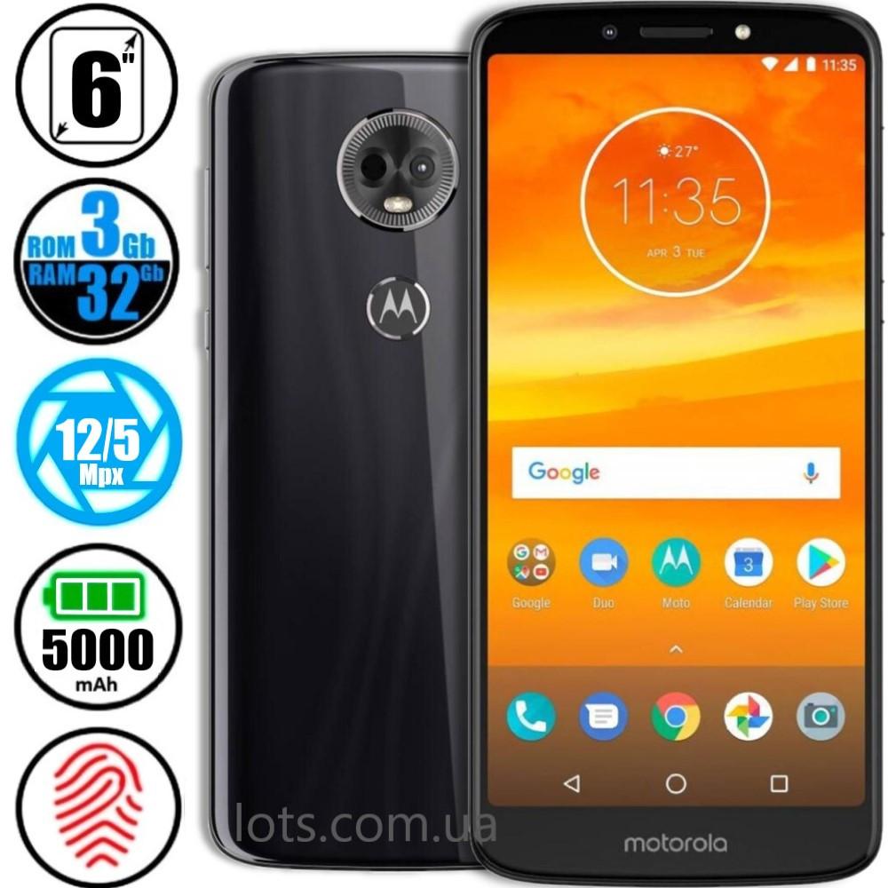 Смартфон Motorola E5 Plus (3/32Gb) Grey