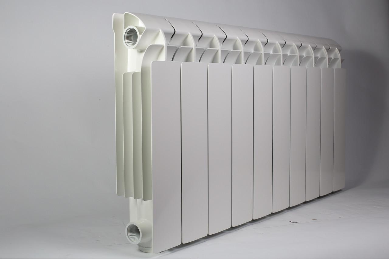 Алюминиевый радиатор VOX R 500/100 (10 секций) с нижним подключением