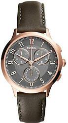 Часы наручные женские FOSSIL CH3099 кварцевые, кожаный ремешок, США