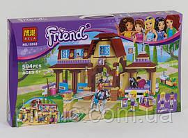 """Детский конструктор """"Клуб верховой езды"""" для девочек, 594 дет, Игровой набор Пони Лошадки для детей"""