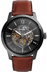 Часы наручные мужские FOSSIL ME3181 автоподзавод, ремешок из кожи, США