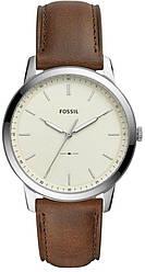 Часы наручные мужские FOSSIL FS5439 кварцевые, ремешок из кожи, США