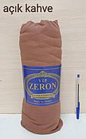 Простынь на резинке трикотажная 90*200 ACIK KAHVE (TM Zeron), Турция