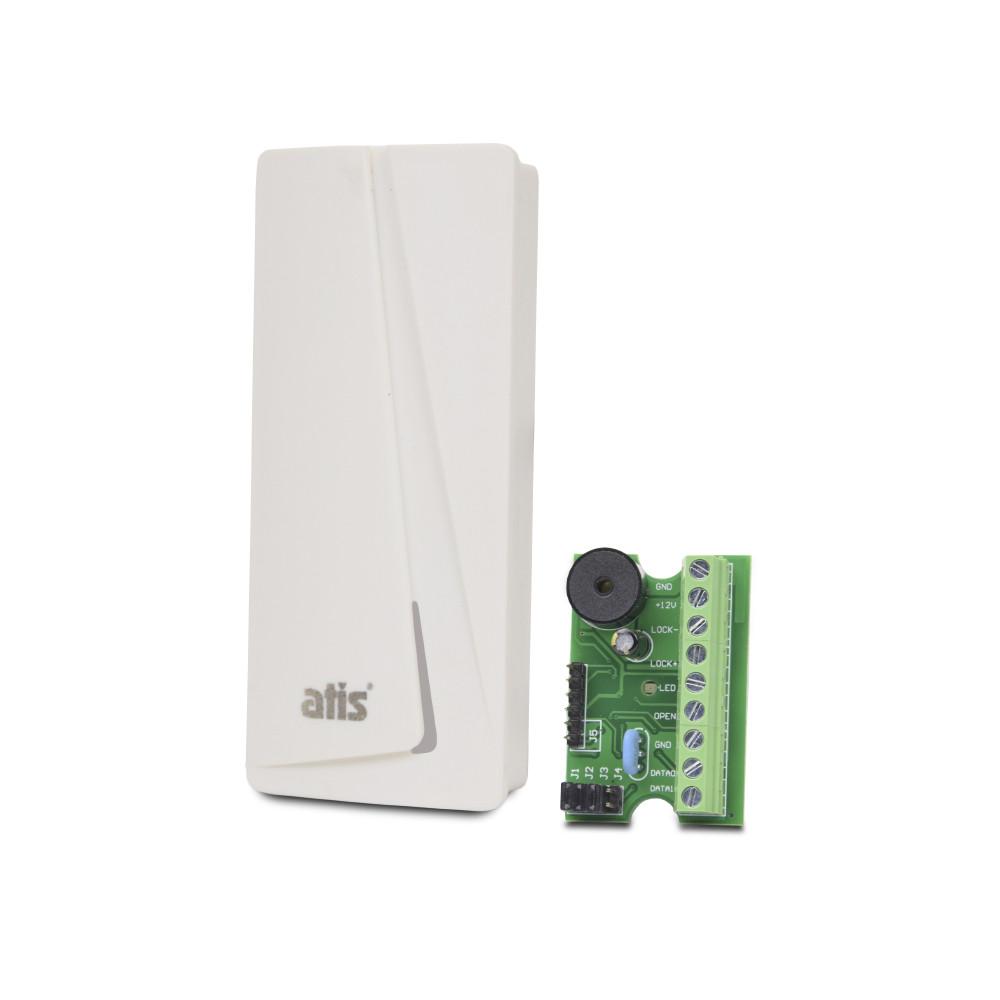 Комплект автономный контроллер ATIS AC-03 + PR-08 EM-W (white)