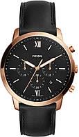 Часы наручные мужски FOSSIL FS5381 кварцевые, ремешок из кожи, США