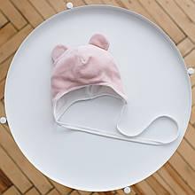 "Велюрова шапка ""Tessera"", рожева"