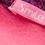Теплая детская кофта р.104,110,116,122 SmileTime Minny, малиновая, фото 3
