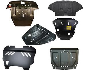 Защита Jeep Compass  2011-  V-2.4D АКПП, закр. двиг+кпп (Шериф.) двигателя поддона