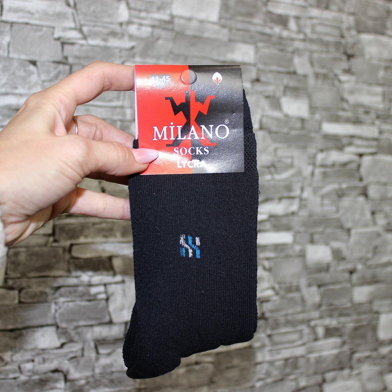 Носки махровые  мужские Житомир Милано (В упаковке 12 пар)