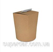 Коробка ВОК 90х90х120 мм для локшини і салатів, морозива 900 мл Крафт (ящ.: 750 шт)