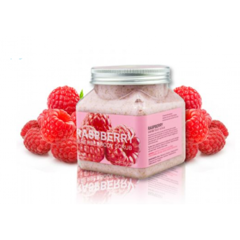 Скраб для тела WOKALI Raspberries Sherbet Body Scrub 350 мл