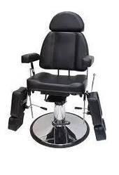 Кресло для педикюра гидравлическое раздельными ногами раздвижными в стороны модель 227В2 (3 цвета)