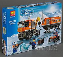 """Конструктор Bela Urban """"Арктична Мобільна Станція"""" 394 деталі. Дитячий конструктор для хлопчиків"""