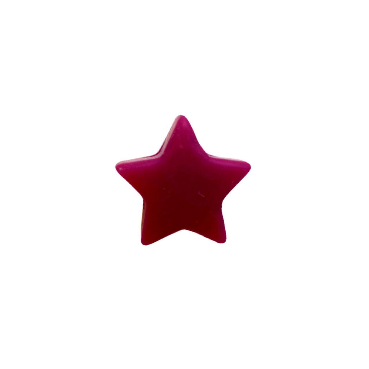 Мини звездочка (винный) бусина из пищевого силикона