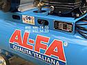 Компрессор воздушный AlFa ALC150-2 масляный 150л 740л/мин ременной, фото 6