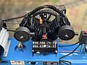 Компрессор воздушный AlFa ALC150-2 масляный 150л 740л/мин ременной, фото 3