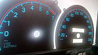 Шкалы приборов Opel Omega A с тахометром, фото 1