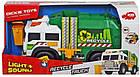 Функциональная машина Dickie Toys Мусоровоз с баком со световыми и звуковыми эффектами 3306006, фото 4
