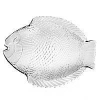Набор тарелок стеклянных мелких Pasabahce Marine  260х210мм 6шт