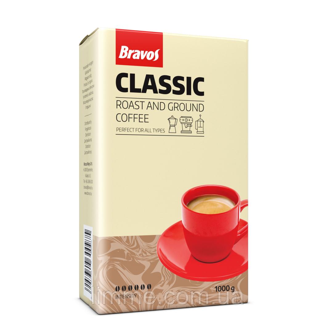 Кофе молотый Bravos Classic 1 кг