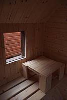 Сауна парна деревянная лазня мобильная отдельностоящая с предбанником, фото 5