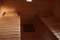 Сауна парна деревянная лазня мобильная отдельностоящая с предбанником, фото 8